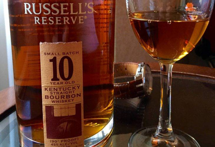 Russell's Reserve Small Batch 10 years old Kentucky Straight Bourbon Whiskey (Wild Turkey)