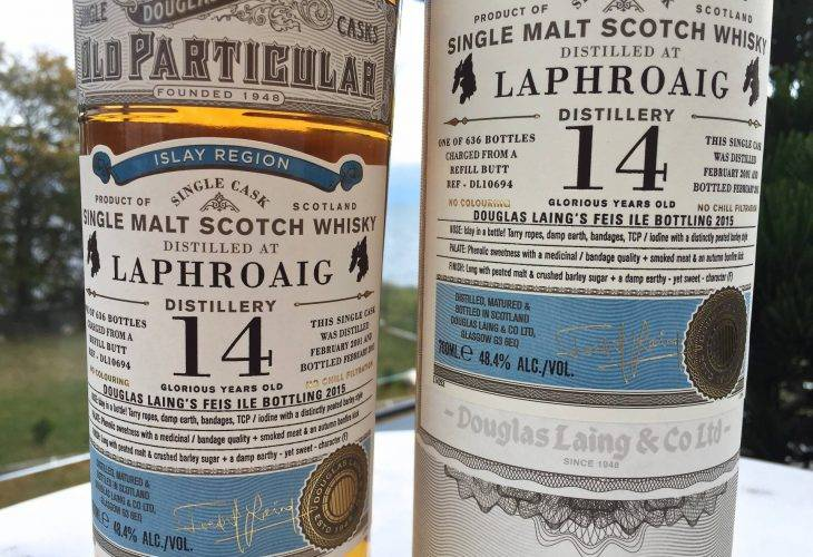 Laphroaig 14 years old Douglas Laing's Old Particular
