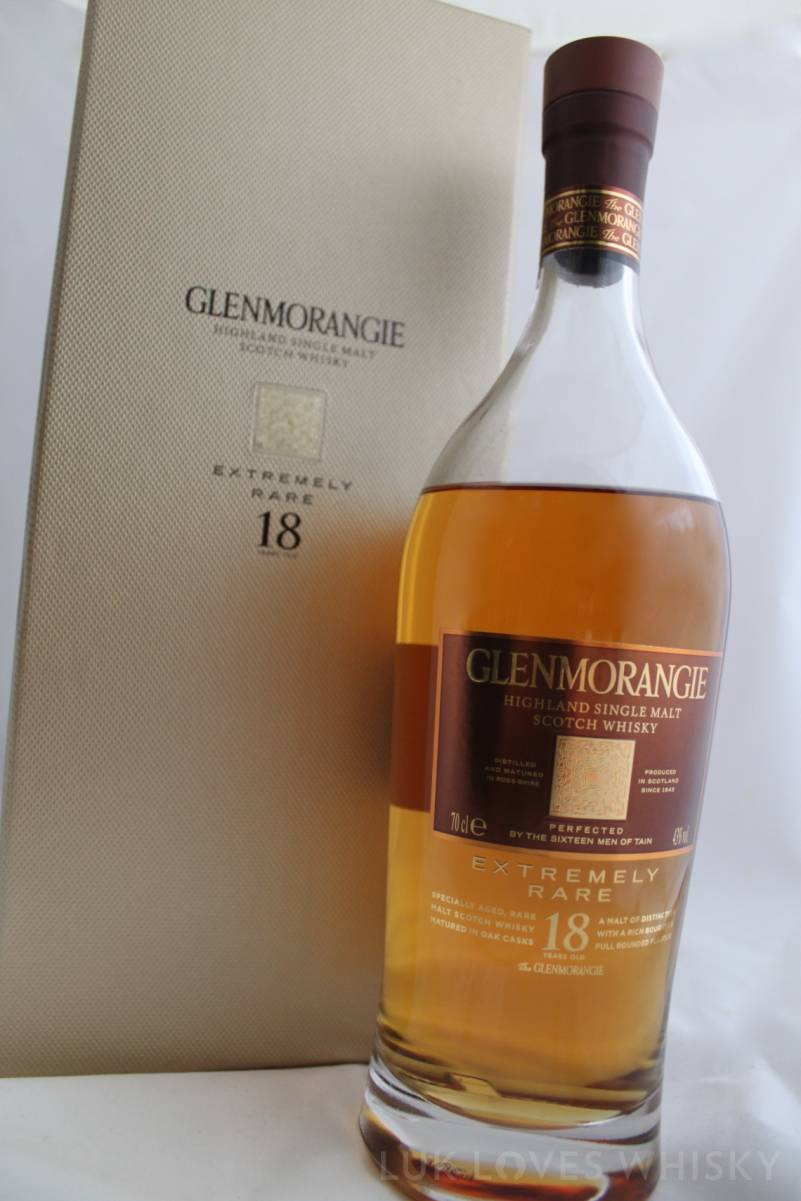 Glenmorangie & box well done gold luxrious box