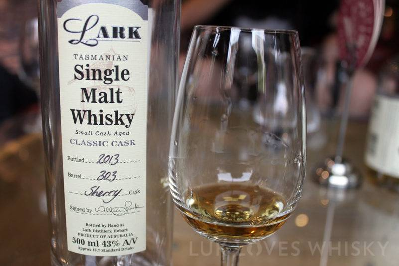 Lark Single Malt Whisky alcohol legs