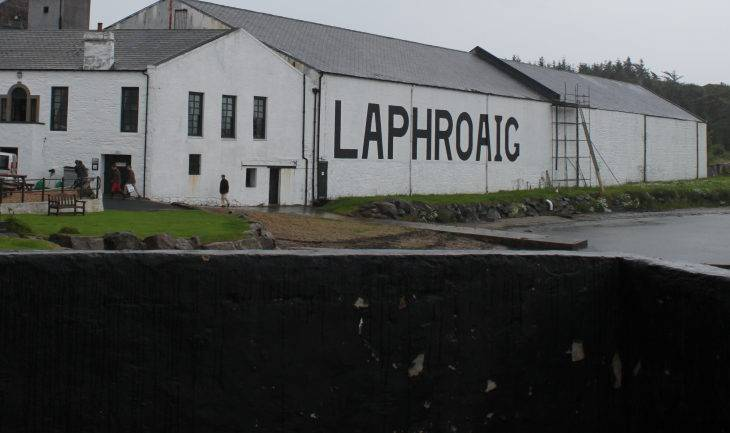 Isle of Islay – part II Laphroaig Distillery