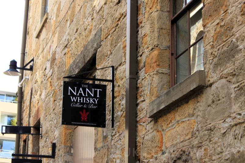 Nant Whisky Bar information of stylish stone building