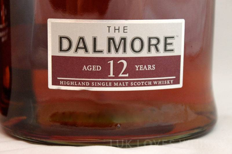The Dalmore 12 years old bottle