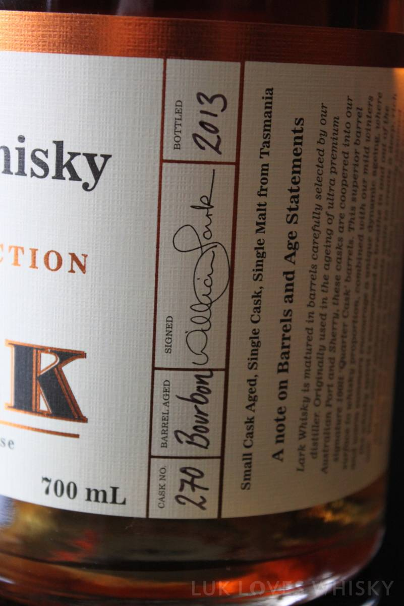 Lark Distiller's Selection Cask 270