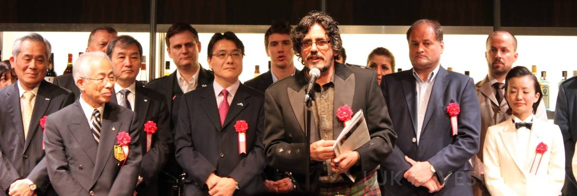 official opening Tokyo International Bar Show Whisky Live Tokyo 2013