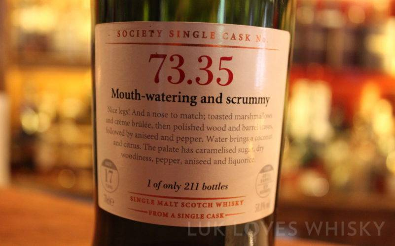 Scotch Malt Whisky Society 73.35