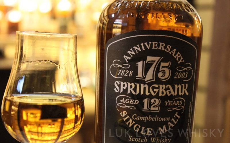 Springbank 175, 12 years old