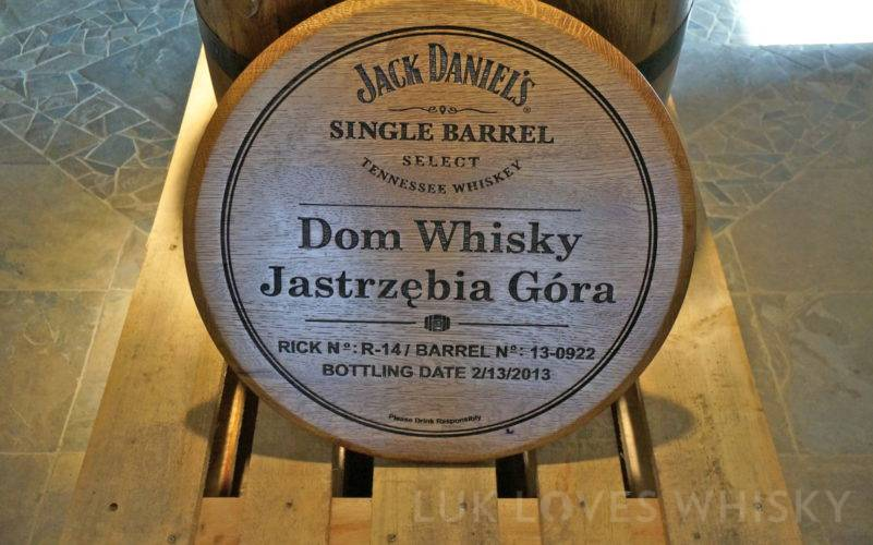 Jack Daniel's barrel for Dom Whisky