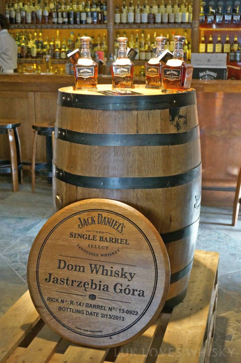 Jack Daniel's barrel for Dom Whisky Jastrzebia Gora
