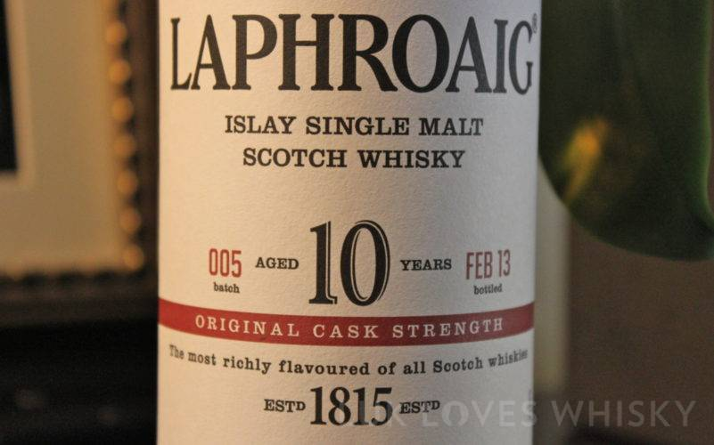 Laphroaig 10 years old CS 005