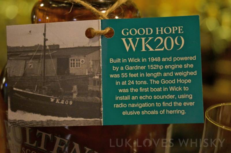 Old Pulteney WK209 Good Hope