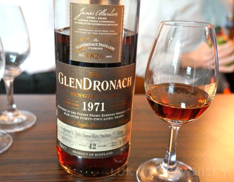 Whisky Live Paris GlenDronach 42 years old