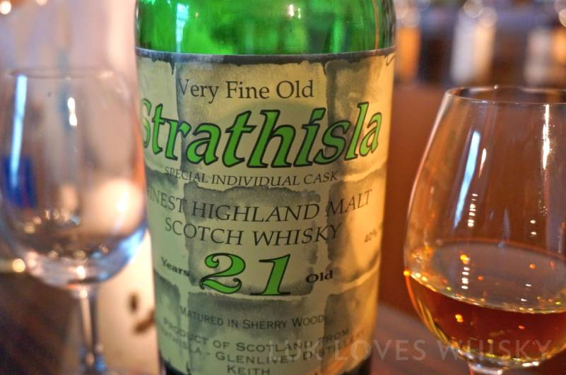 Whisky Live Paris Strathisla 21 years old