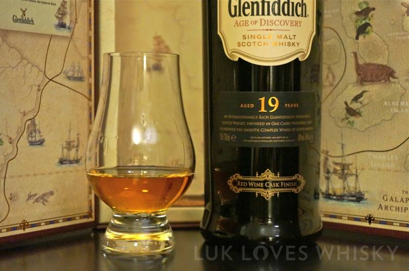 Glenfiddich 19 years old Red Wine Finish Age of Discovery