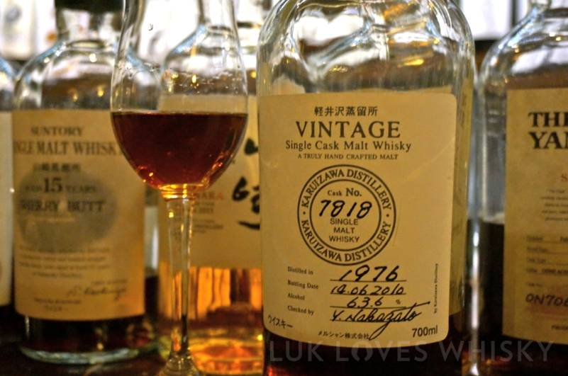 Karuizawa 1976, Cask 7818, The Auld Alliance Singapore