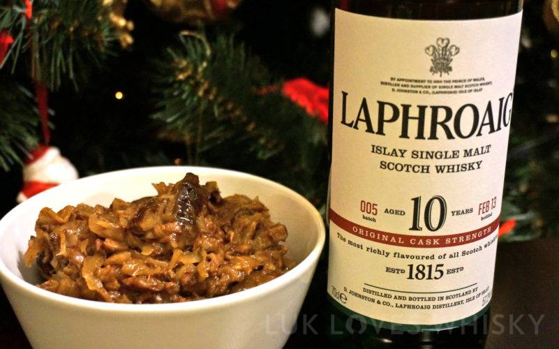 Christmas bigos with Islay flavour