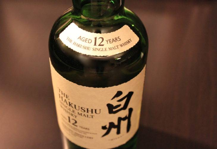 The Hakushu 12 years old