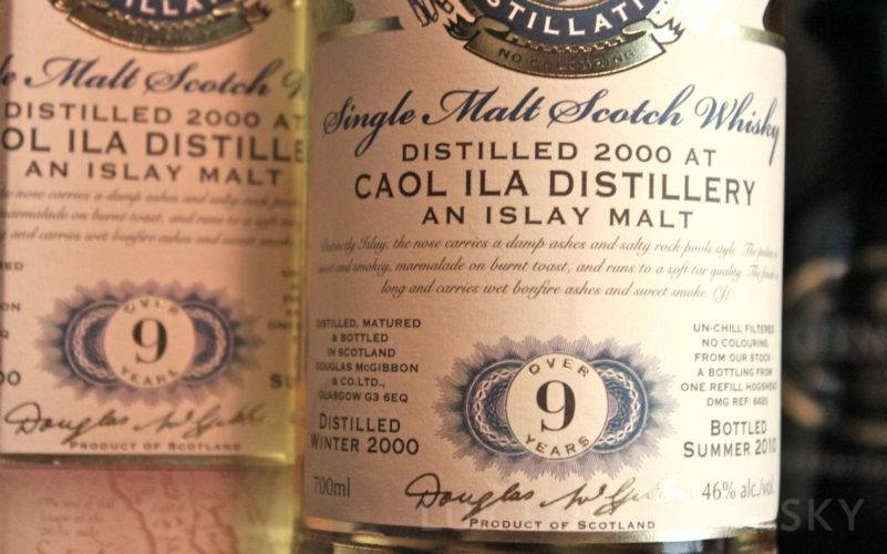 Caol Ila 9 years old Provenance
