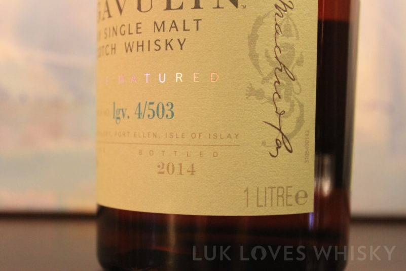 Lagavulin 1998/2014 Distillers Edition lgv. 4/503