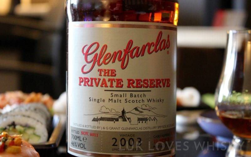 Glenfarclas The Private Reserve 2003/2011