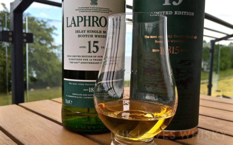 Laphroaig 15 years old 200 Anniversary 43% ABV