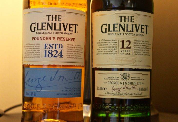The Glenlivet Founder's Reserve NAS i 12 years old