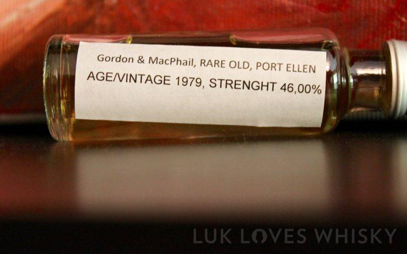 Port Ellen 1979/2013, Rare Old, Gordon & MacPhail, 46%, Lot RO/12/08