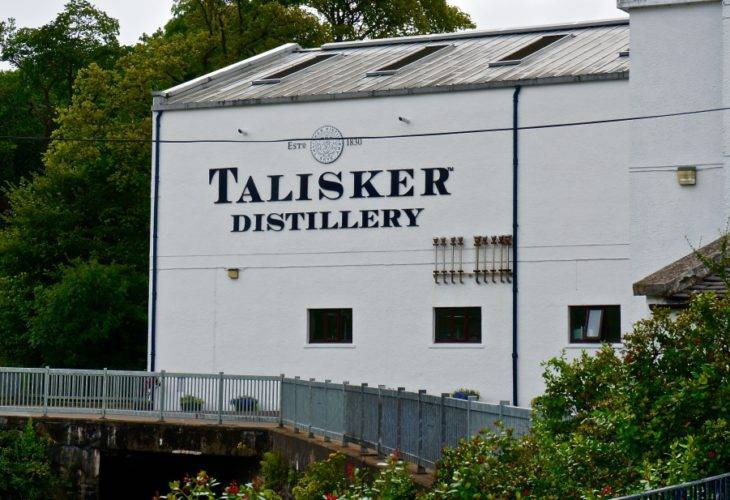 Visit to the Talisker Distillery