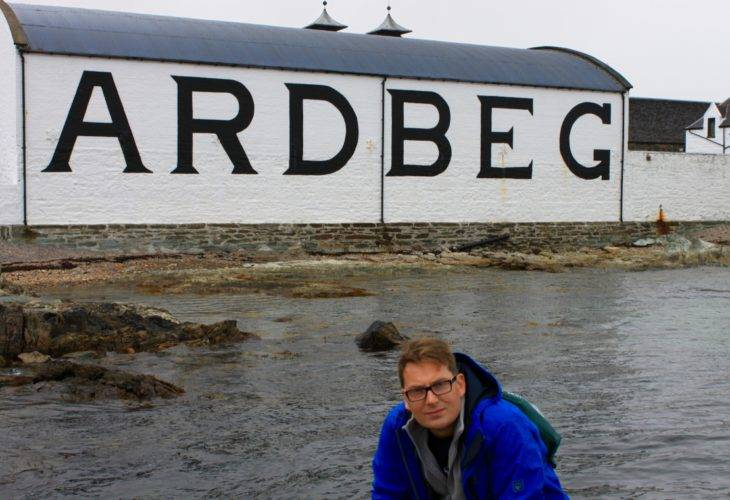 Visit to the Ardbeg Distillery