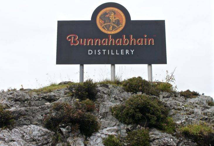 Visit to the Bunnahabhain Distillery