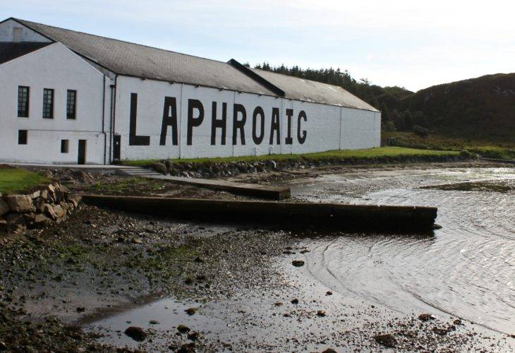 Visit to the Laphroaig Distillery