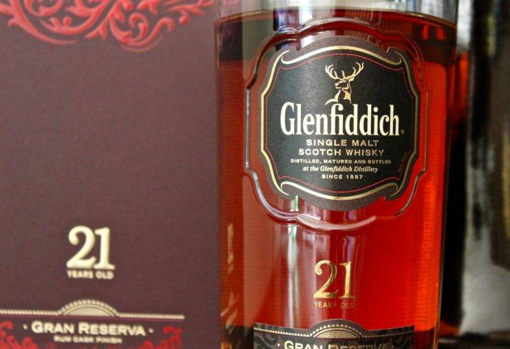 Glenfiddich 21 years old Gran Reserva Rum Cask Finish, 43.2% ABV