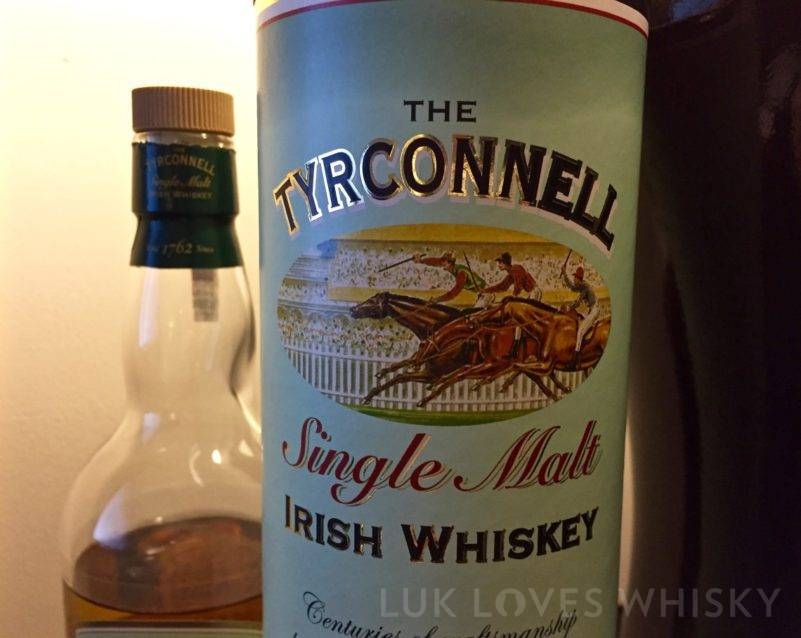 The Tyrconnell Single Malt Irish Whiskey, NAS, 40% ABV