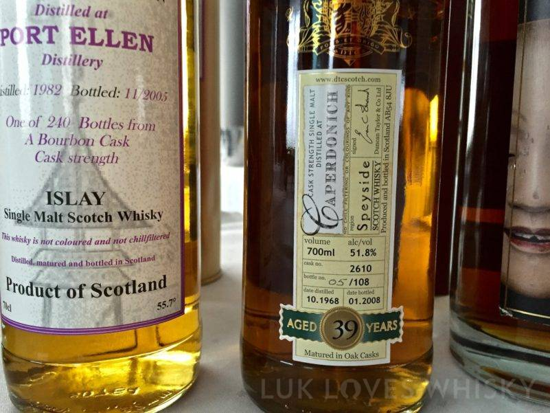 Caperdonich, 38 years old, 1968/2007, 51.4%, Duncan Taylor, cask 2619