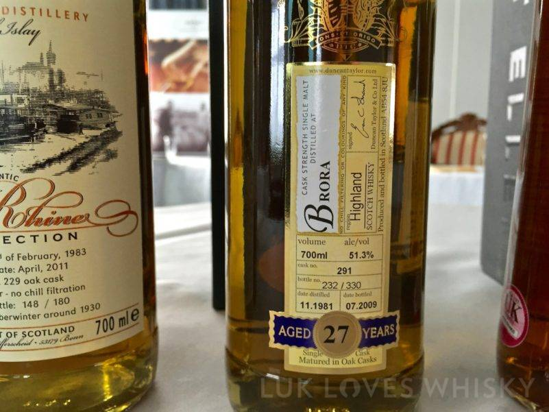 Brora, 27 years old, 1981/2009, 51.3%, Duncan Taylor, Rare Auld, cask #291