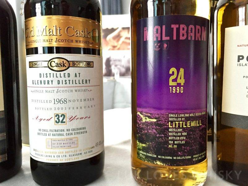Littlemill, 24 years old, 1990/2014, 50.6%, Maltbarn