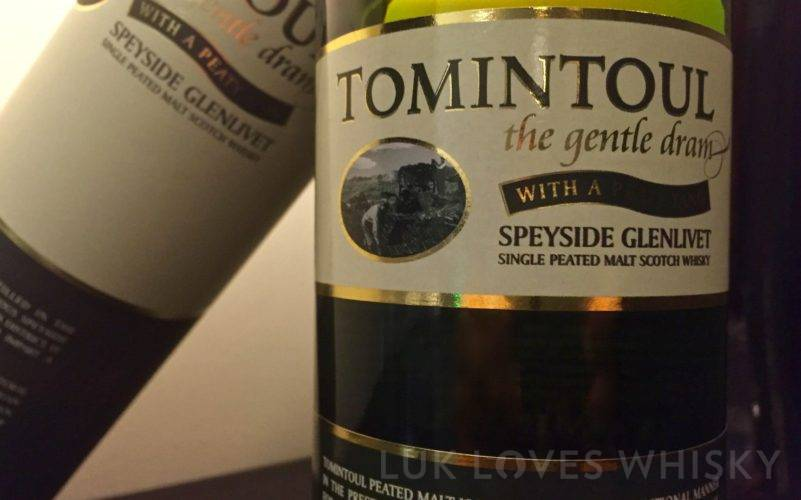 Tomintoul NAS the gentle dram with a peaty tang