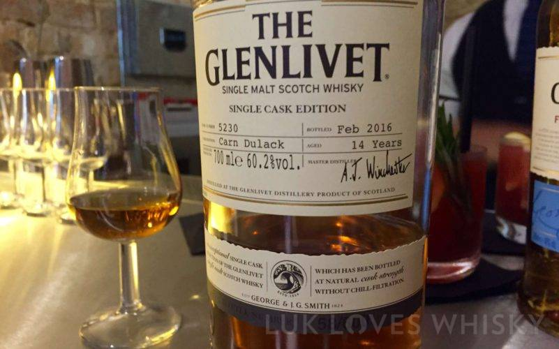 The Glenlivet Carn Dulack Single Cask Edition