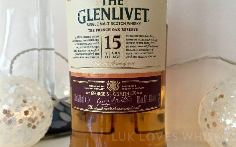 Glenlivet 15 years old The French Oak Reserve