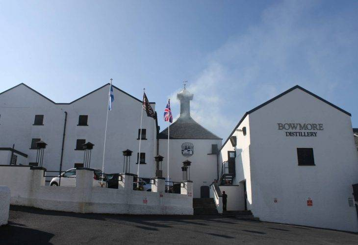 Visit to the Bowmore Distillery