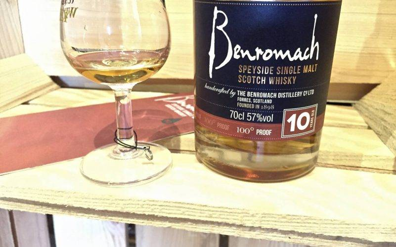 Benromach 10 years old 100 Proof 57% ABV