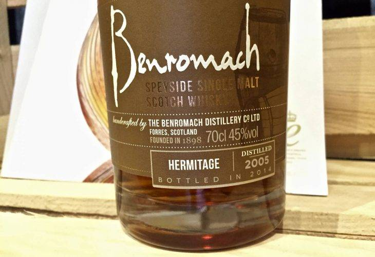 Benromach Wood Finish Hermitage