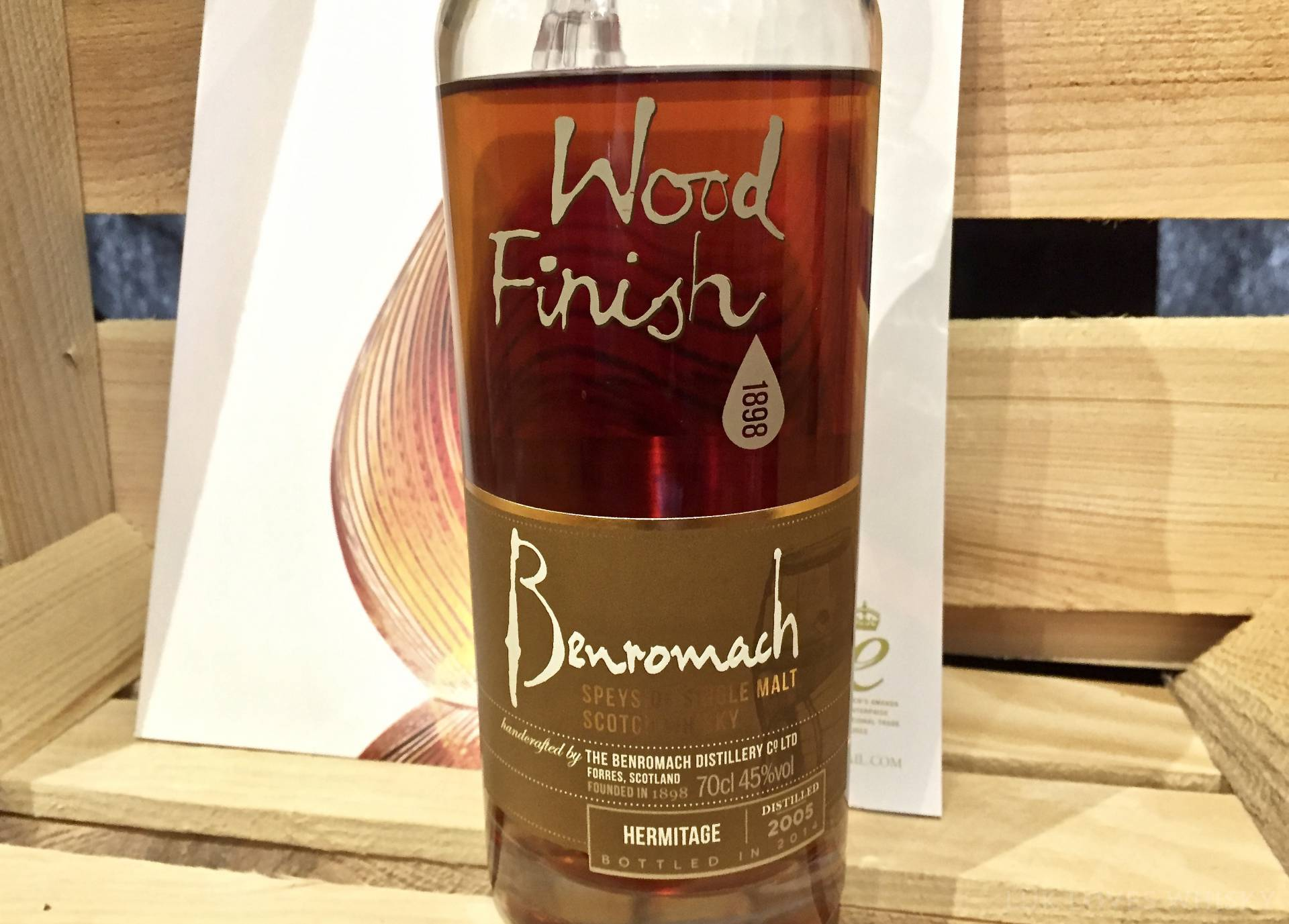 Benromach Wood Finish Hermitage 2005/2014
