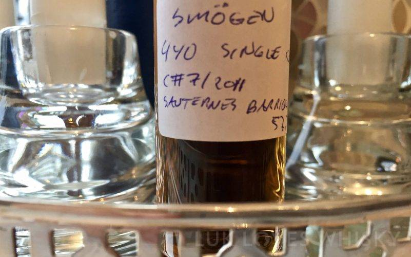 Smögen 4 years old, Single Cask #7/2011, 57.3% ABV