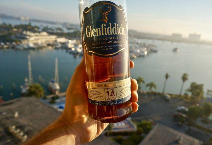 Glenfiddich 14 years old Bourbon Barrel Reserve