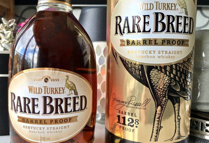 Wild Turkey Rare Breed 112.8 Proof 56.4% ABV