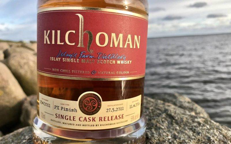 Kilchoman Single Cask 2011/2016 PX Finish na Whisky & Friends M&P Festival