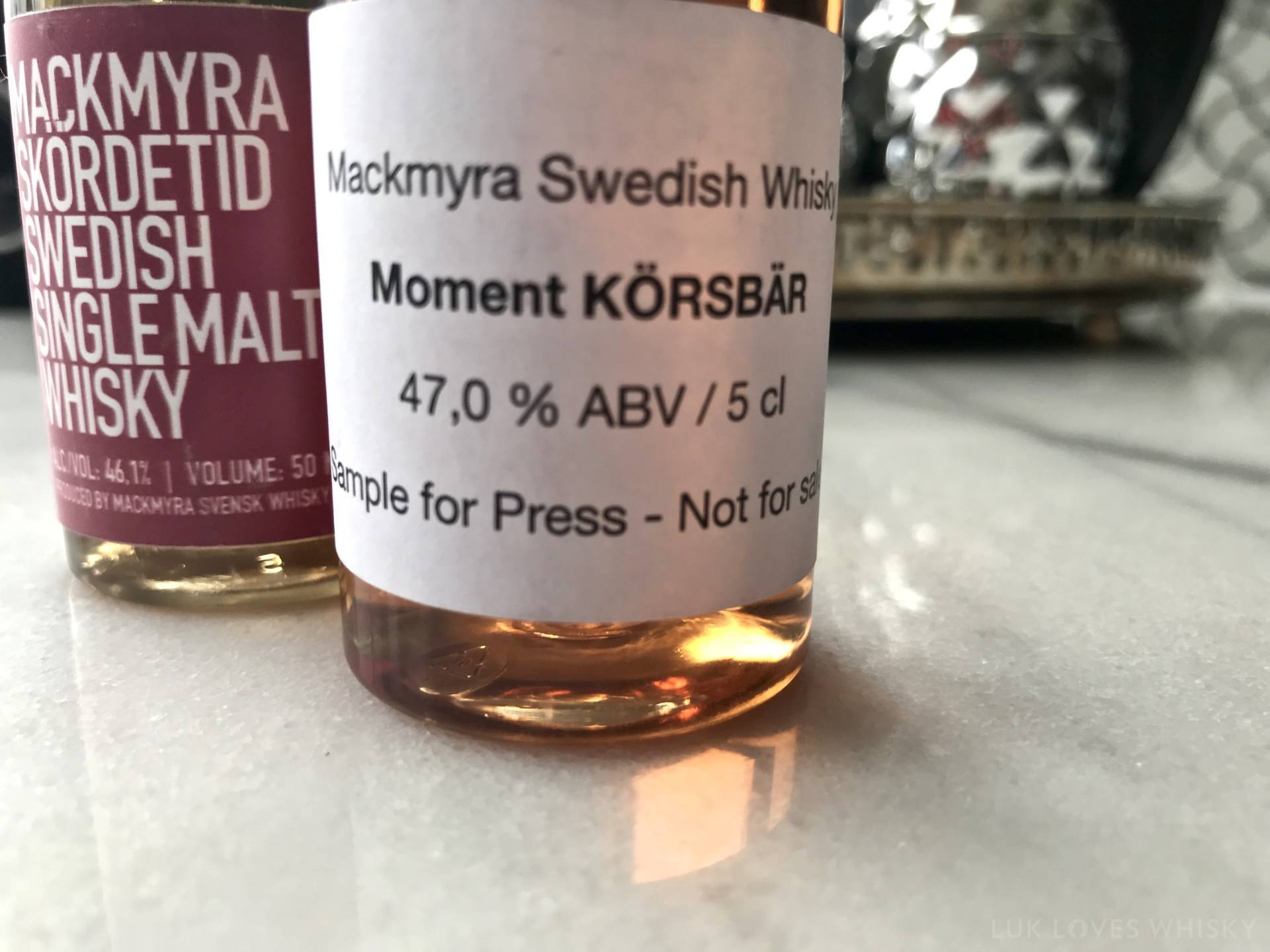 Swedish single malt whisky