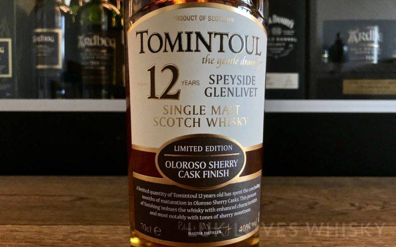 Tomintoul 12 years old Oloroso Sherry Cask Finish