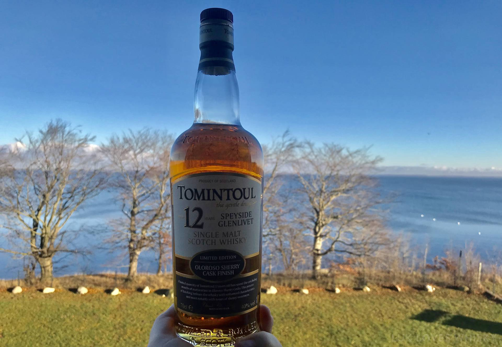 tomintoul sherry